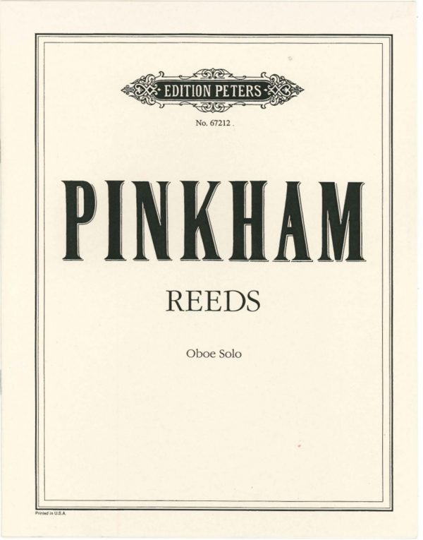 Pinkham: Reeds