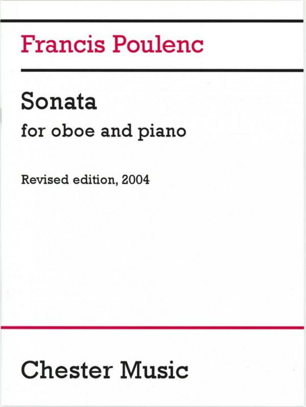 Poulenc: Oboe Sonata