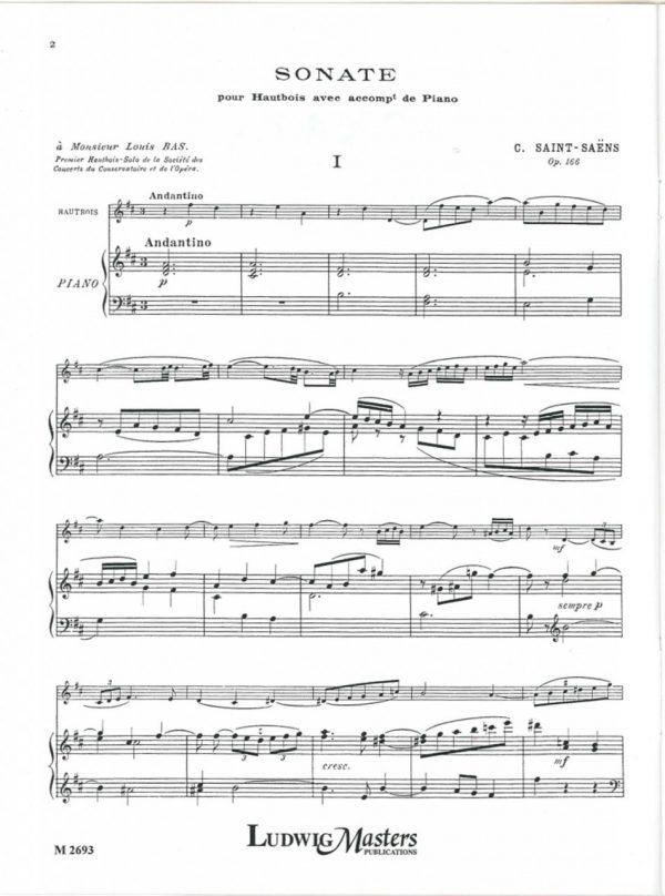Saint-Saens: Oboe Sonata