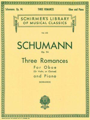 Schumann: Oboe Romances