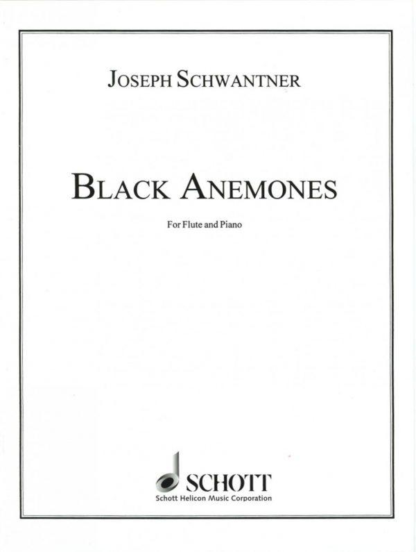 Schwantner: Black Anemones for Oboe