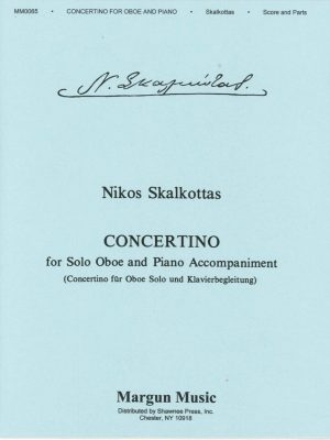 Nikos Skalkotta: Concertino for Oboe