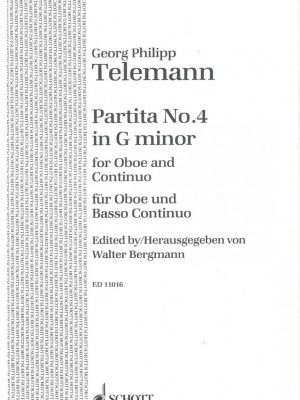Telemann Ob Partita #4