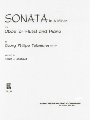 Telemann: Oboe Sonata in A minor