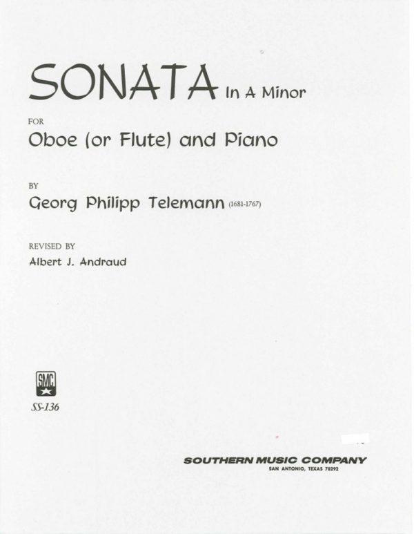 Telemann: Oboe Sonata in A minor