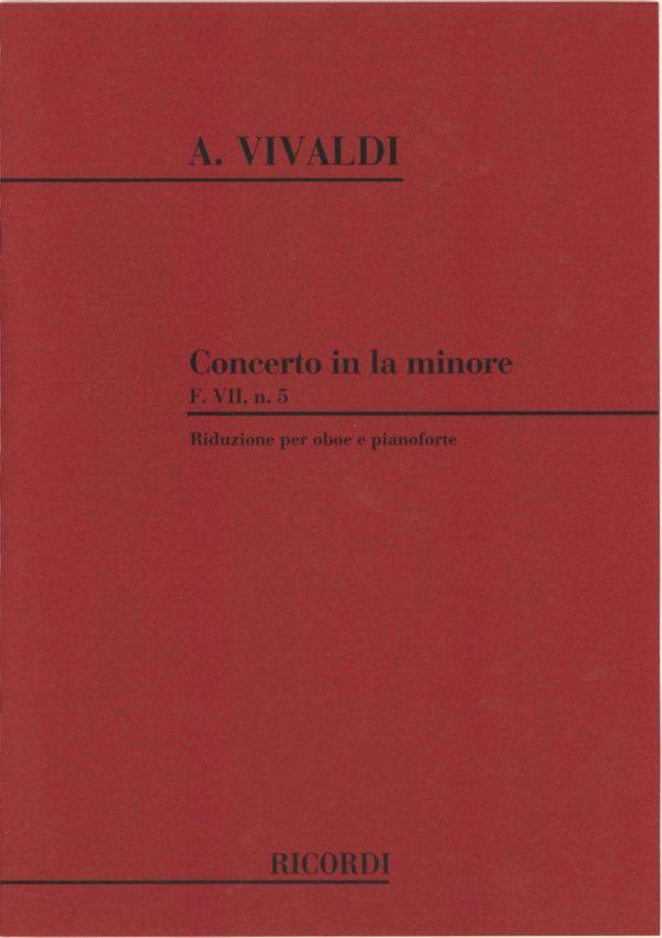 Vivaldi: Oboe Concerto F VII in A Minor