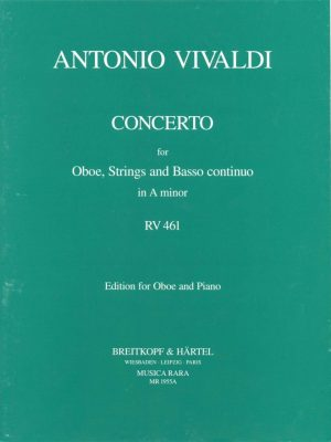 Vivaldi: Oboe Concerto in A Minor, RV461