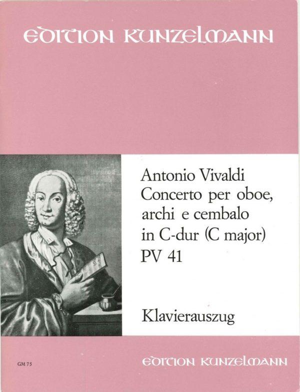 Vivaldi: Oboe Concerto in C opus 7/6 PV 41