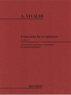 Vivaldi: Oboe Concerto D Minor FVII/1