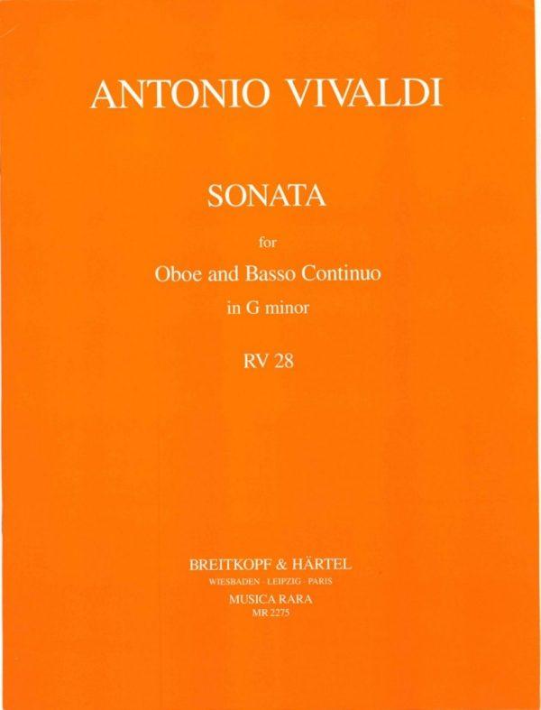 Vivaldi: Oboe Sonata in G Minor, RV28