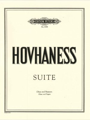 Hovhannes:  Suite for oboe and bassoon