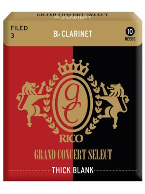 "Rico Grand Concert Select ""Thick"" Bb Clarinet reeds - Box of 10"