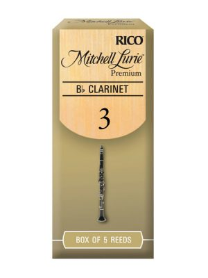Mitchell Lurie Premium Bb Clarinet reeds - Box of 5
