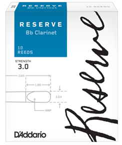 D'Addario Rico Reserve Bb Clarinet reeds
