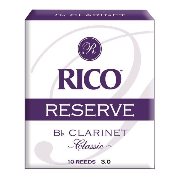 D'Addario Rico Reserve Classic Bb Clarinet reeds