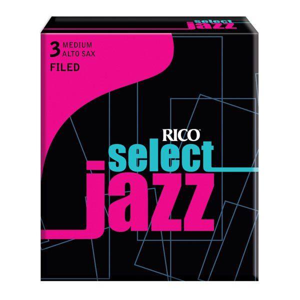 Rico Jazz Select Filed Alto Sax reeds