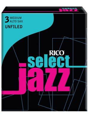 Rico Jazz Select UNFiled Alto Sax reeds