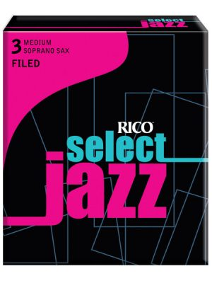 Rico Jazz Select Filed Soprano Sax Reeds