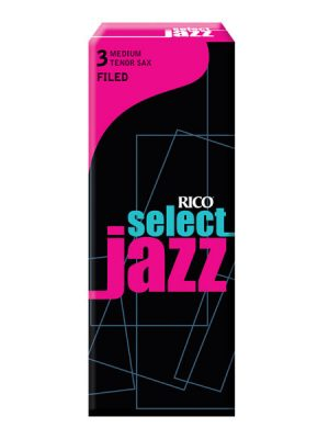 Rico Jazz Select Filed Tenor Sax Reeds