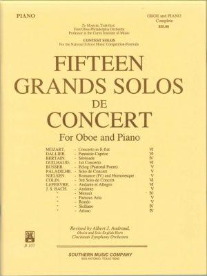 15 Grand Solos de Concert, Andraud