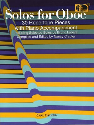 Solos for Oboe: 30 Repertoire Pieces, Clauter