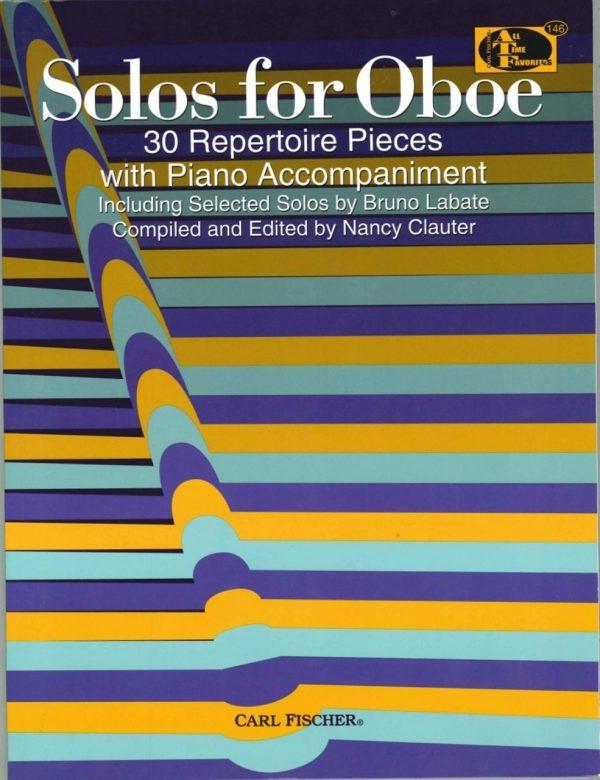 Solos for Oboe: 30 Repertoire Pieces, Clauter