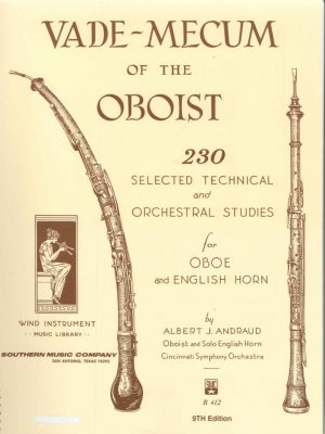 Andraud: Vademecum of the Oboist