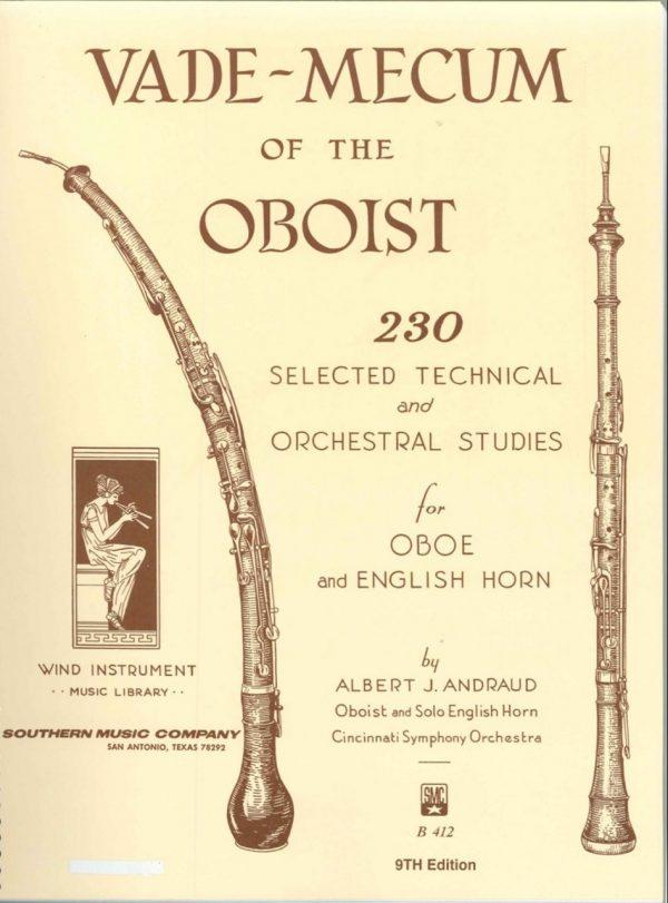 Andraud: Vademecum of the Oboist
