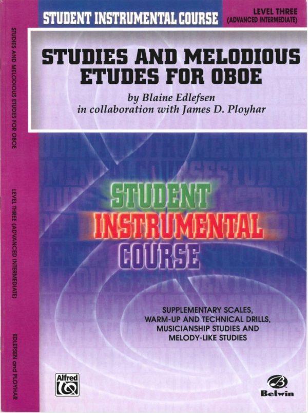 Edlefsen: Studies & Melodious Etudes, Vol. 3 (advanced intermediate)