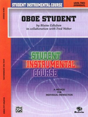 Edlefsen: Oboe Student, Vol. 2 (intermediate)
