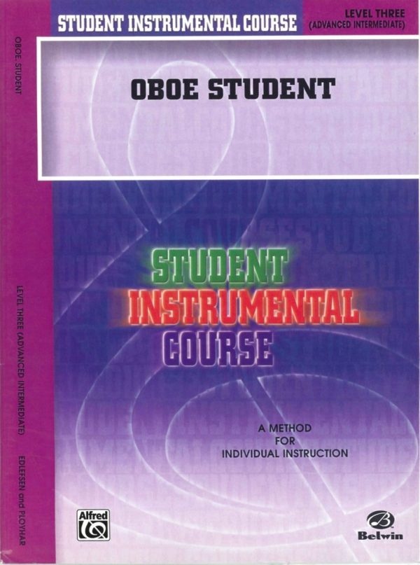Edlefsen: Oboe Student, Vol. 3 (advanced intermediate)