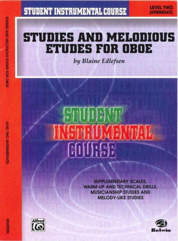 Edelfsen: Studies & Melodius Etudes for Oboe, Vol. 2 (Intermediate)
