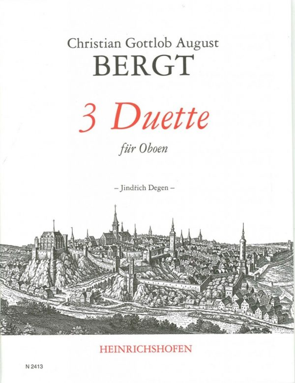Bergt: 3 Duets for Oboe