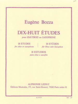 Bozza: Dix-Huit Etudes