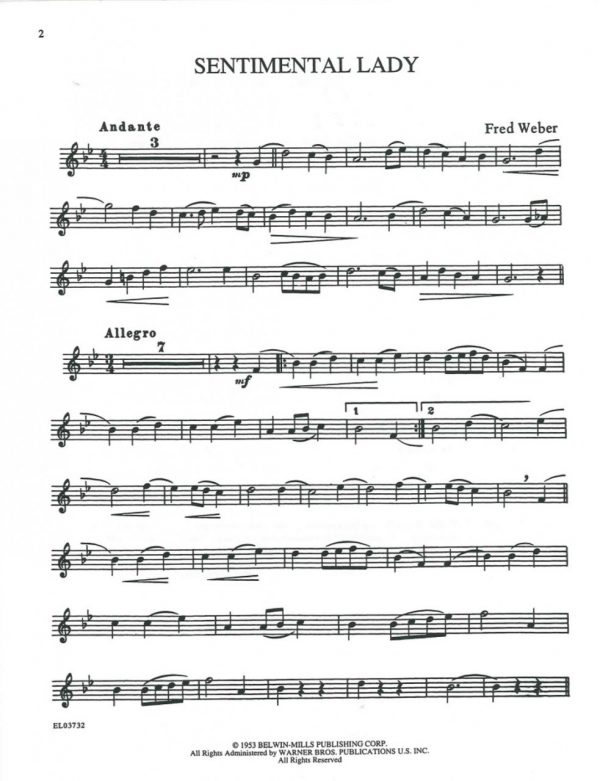 Classic Festival Solos, Vol. 1, oboe part only