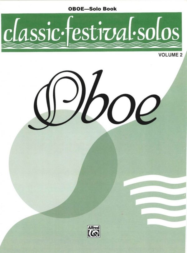 Classic Festival Solos, Vol. 2, oboe part only