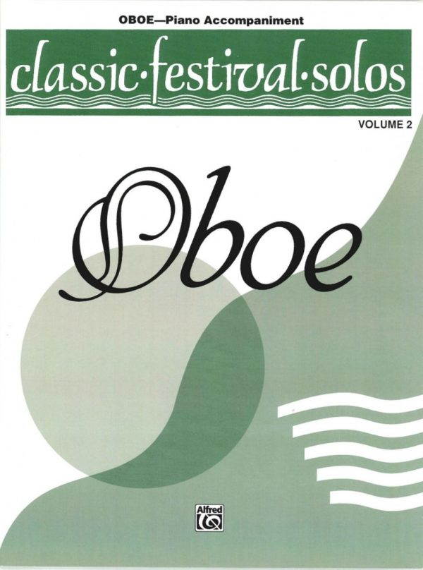 Classic Festival Solos, Vol. 2, piano part only