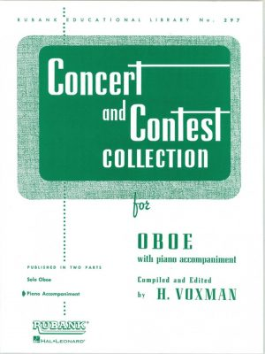 Concert and Contest Collection, piano part only