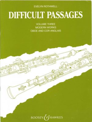 Rothwell: Difficult Passages Vol. 3, Modern Works