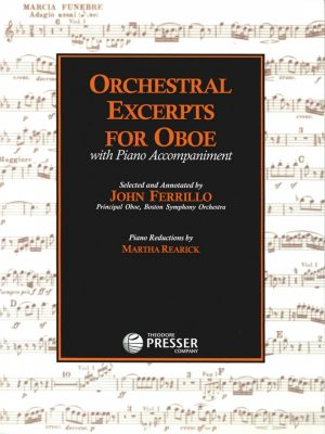 Ferillo: Orchestral Excerpts for Oboe