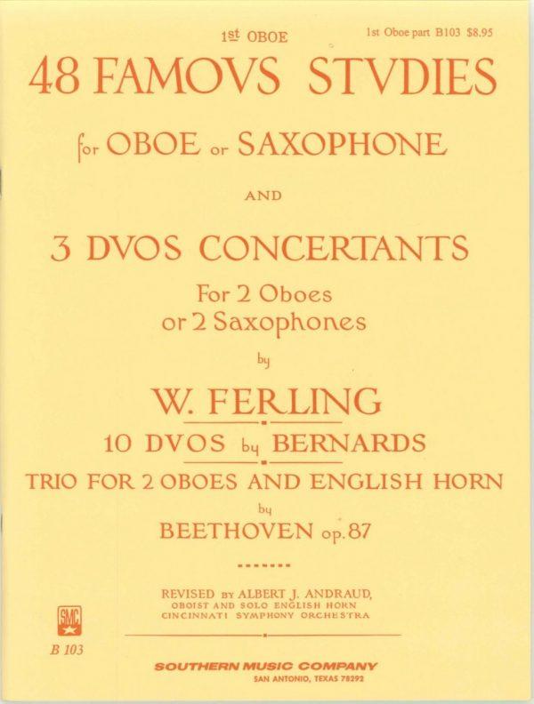 Ferling: 48 Studies Vol. 1