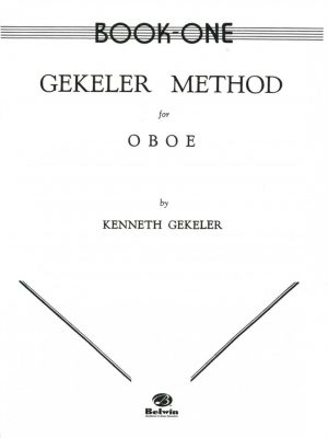 Gekeler: Oboe Method, Book 1