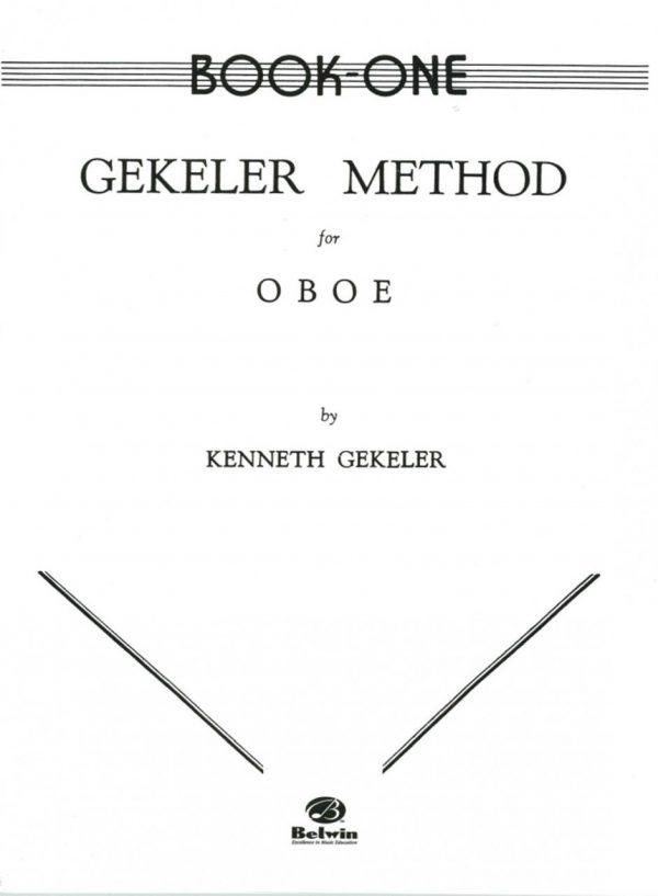 Gekeler: Oboe Method, Book 1