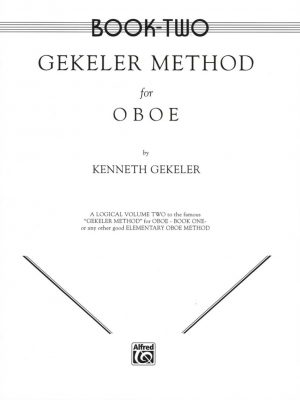 Gekeler: Oboe Method, Book 2