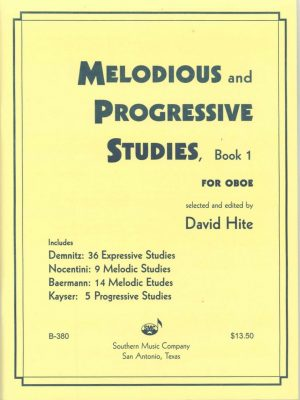 Hite: Melodious and Progressive Studies, Bk. 1