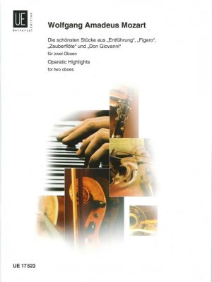 Mozart: Operatic Highlights for 2 Oboes