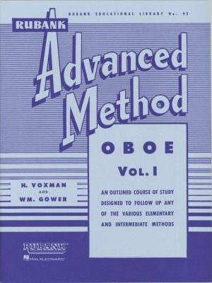 Rubank: Oboe Method, Vol. 1 (Advanced)