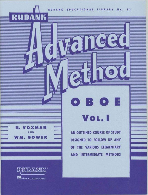 Rubank: Oboe Method, Vol. 1 (Advanced)