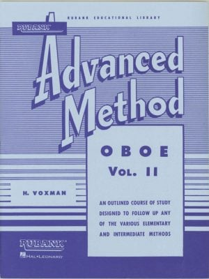 Rubank: Oboe Method, Vol. 2 (Advanced)