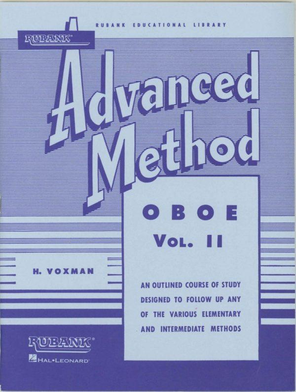 Rubank: Oboe Method, Vol. 2 (Advanced)